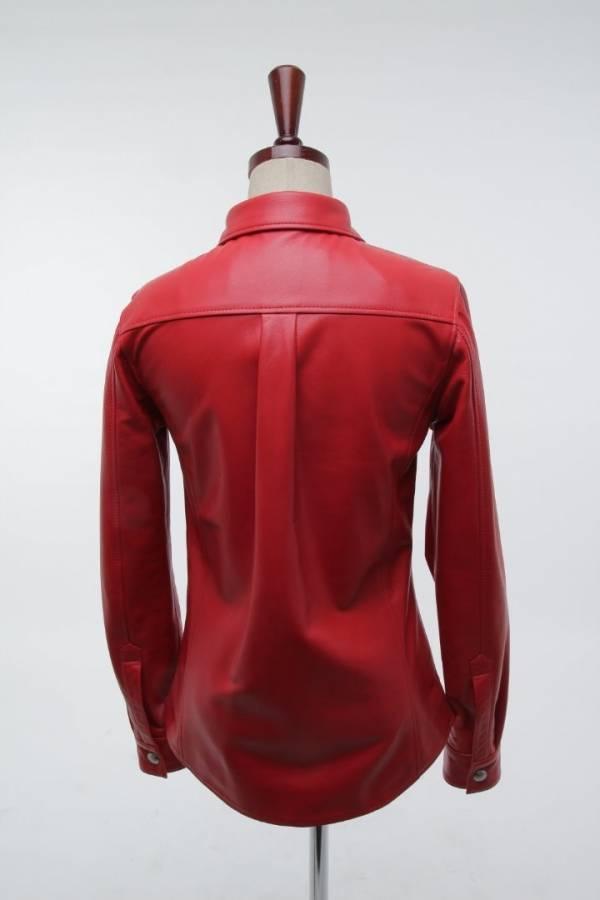 STEEDMENT-[Steedment] Leather Shirt_T0104Women