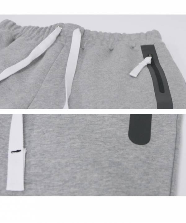 ATICLE STUDIO-[Aticle Studio] Welding Zip Baggy Sweat PantsMG