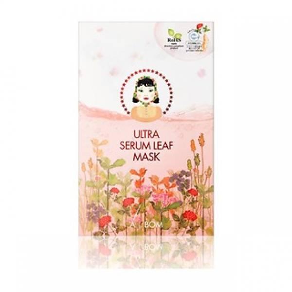 A. by BOM-[A. BY BOM] 1 Step Ultra Serum Leaf Mask 5EA