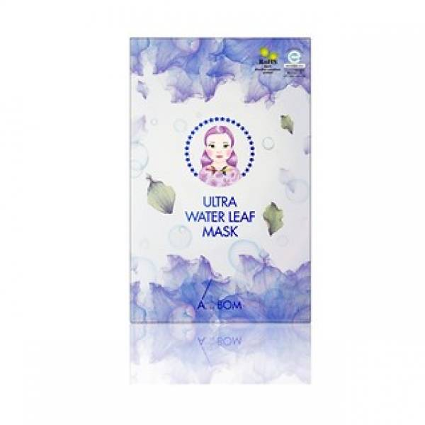 A. by BOM-[A. BY BOM] 1 Step Ultra Water Leaf Mask 5EA