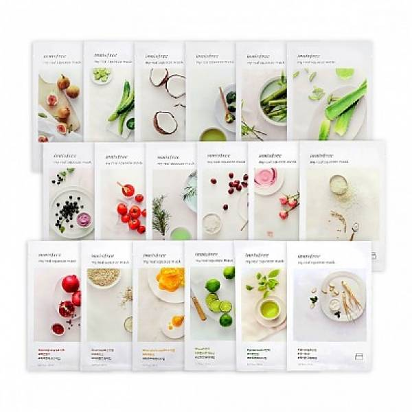 INNISFREE-[INNISFREE] My Real Squeeze Mask [36pcs]