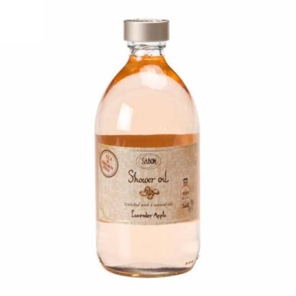 SABON-[SABON] Shower Oil Glass bottle, Lavender Apple