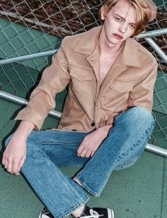 [At The Moment] Padding Blouson (BEIGE)