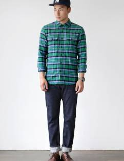 [Secondmove] TIMBER FLANNEL SHIRT