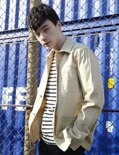 [At The Moment] Washed Cotton Jacket (BEIGE)