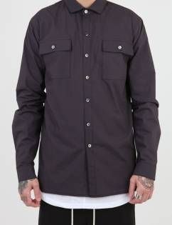 [Sley] SIDE CUTTING POCKET SHIRT