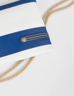 [La Croisanc] Dieppe Military Navy-Clutchbag MARINE
