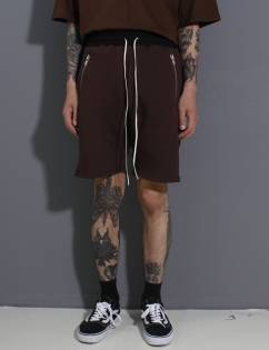 [Fade6] Pocketzip Shorts Choco
