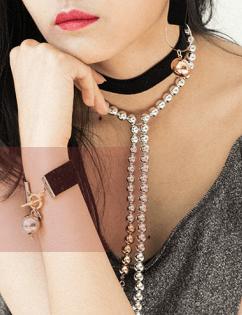 [Hotdew] Velvet Bracelet