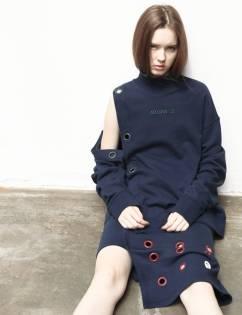 [Aticle Studio] Back to work eyelet Skirt (3C)