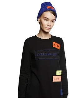 [Aticle Studio] Wappen Point Long Sweatshirt