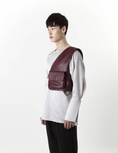 [C-Wear By Genius] CHESTGUARD BURGUNDY