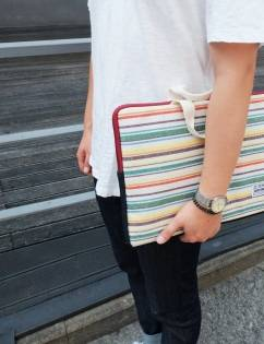 [Cozycomma] Laptop Case13~13.3inch_Rainbow