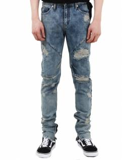 [Fade6] DESTROYED WASHED JEANS