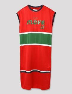 [Aticle Studio] Basketball Mesh Dress (RD)