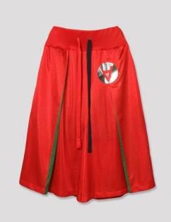 [Aticle Studio] Basketball Mesh Pants (RED)