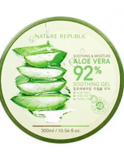 [Nature Republic] Soothing & Moisture Aloe Vera 92% Soothing Gel 300ml