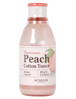 [SKINFOOD] Premium Peach Cotton Toner 175ml