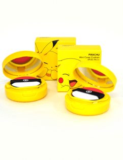 [TONYMOLY] Pokemon Pikachu Mini Cover Cushion #02 (Warm Beige)