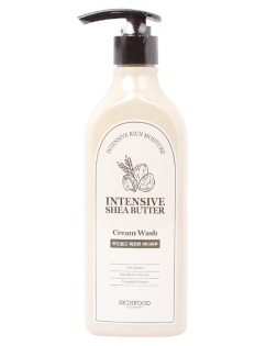 [SKINFOOD] Intensice Shea Butter Cream Wash 335ml