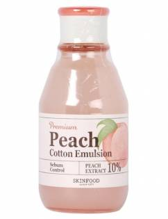 [SKINFOOD] Premium Peach Cotton Emulsion 140ml
