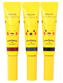 [TONYMOLY] Holiday Edition Pokemon Pikachu Color Mascara #1