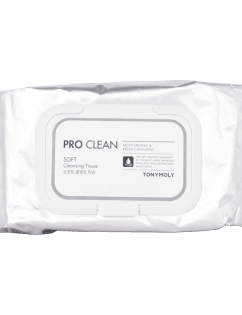 [TONYMOLY] Pro Clean Soft Cleansing Tissue 50 Sheets