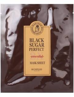[SKINFOOD] Black Sugar Perfect Mask Sheet 2x Essential 21g x 3pcs