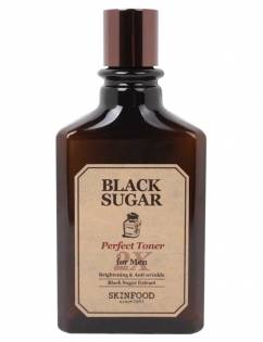 [SKINFOOD] Black Sugar Perfect 2X Toner For Men