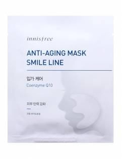 [INNISFREE] Anti-Asing Mask Smile Line x 6pcs