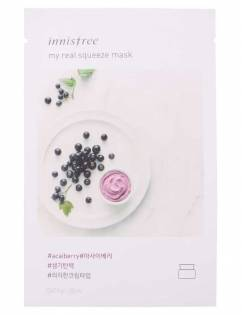 [INNISFREE] My Real Squeeze Mask [Acai Berry] x 3pcs