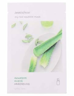 [INNISFREE] My Real Squeeze Mask [Aloe] x 3pcs