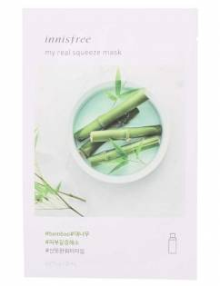 [INNISFREE] My Real Squeeze Mask [Bamboo] x 3pcs