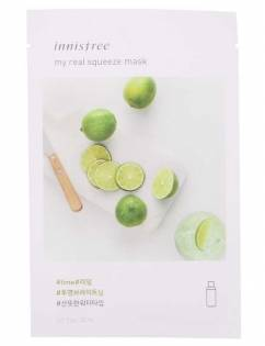 [INNISFREE] My Real Squeeze Mask [Lime] x 3pcs