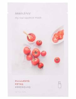 [INNISFREE] My Real Squeeze Mask [Tomato] x 3pcs