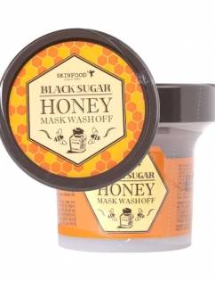 [SKINFOOD] Black Sugar Honey Mask Wash Off 100g