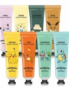 [TONYMOLY] Pokemon Hand Cream Jammanbo Relaxing lavender  30ml