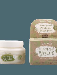 [WHAMISA] Organic Fruits Peeling Finger Mitt (Sebum) 25mitts / Essence 150g