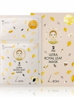 [A. BY BOM] 2 Step Ultra Royal Leaf Mask 10EA