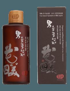 [WHAMISA] Organic Leaf Root Ferment Men's All Cleanser 300ml