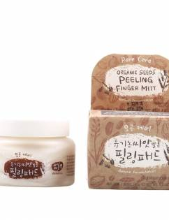 Organic Seed Peeling Finger Mitt (Pore Care) 25mitts / Essence 150g