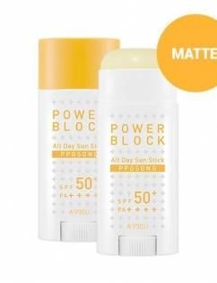 [A'PIEU] Power Block All Day Sun Stick (Pposong) SPF50+/PA++++